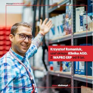 Klinika AGD korzysta z systemu WAPRO ERP od 9 lat